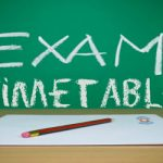 Christmas Exams Timetable for 2nd & 5th Years Commence 14/12/2016